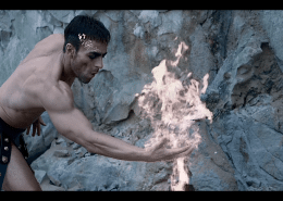 prometheus god of fire theater performance anima vinctum