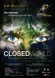 anima vinctum closed world affiche