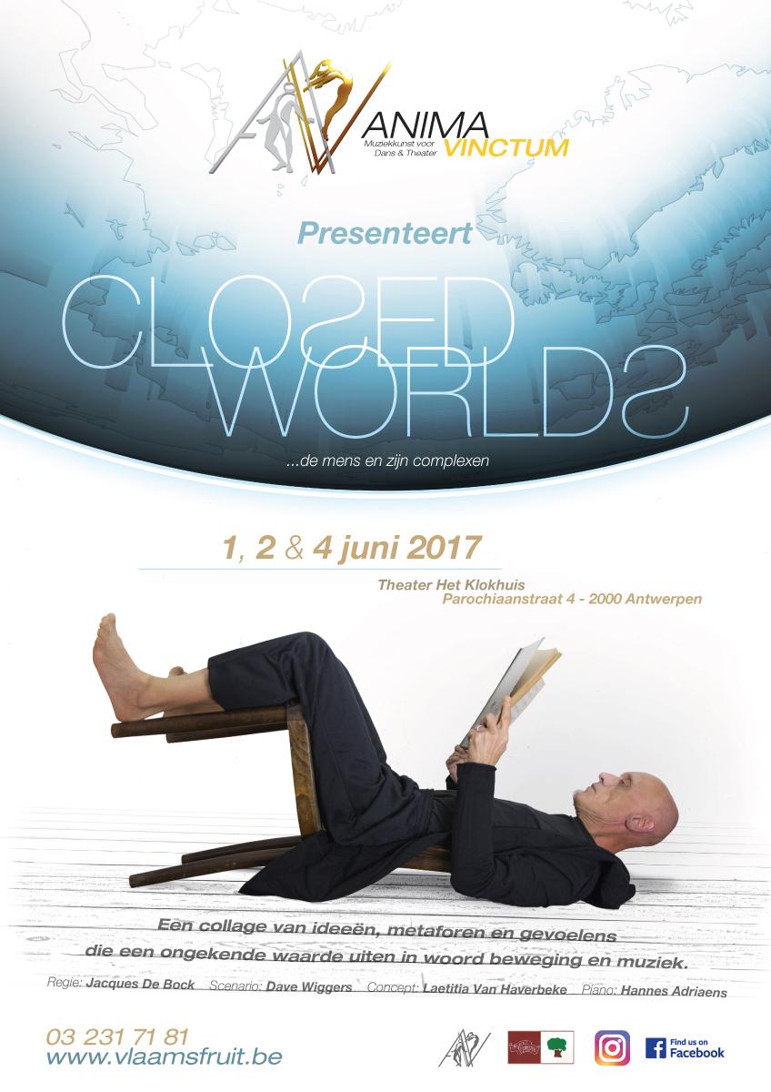 theaterproducties anima vinctum closed worlds affiche