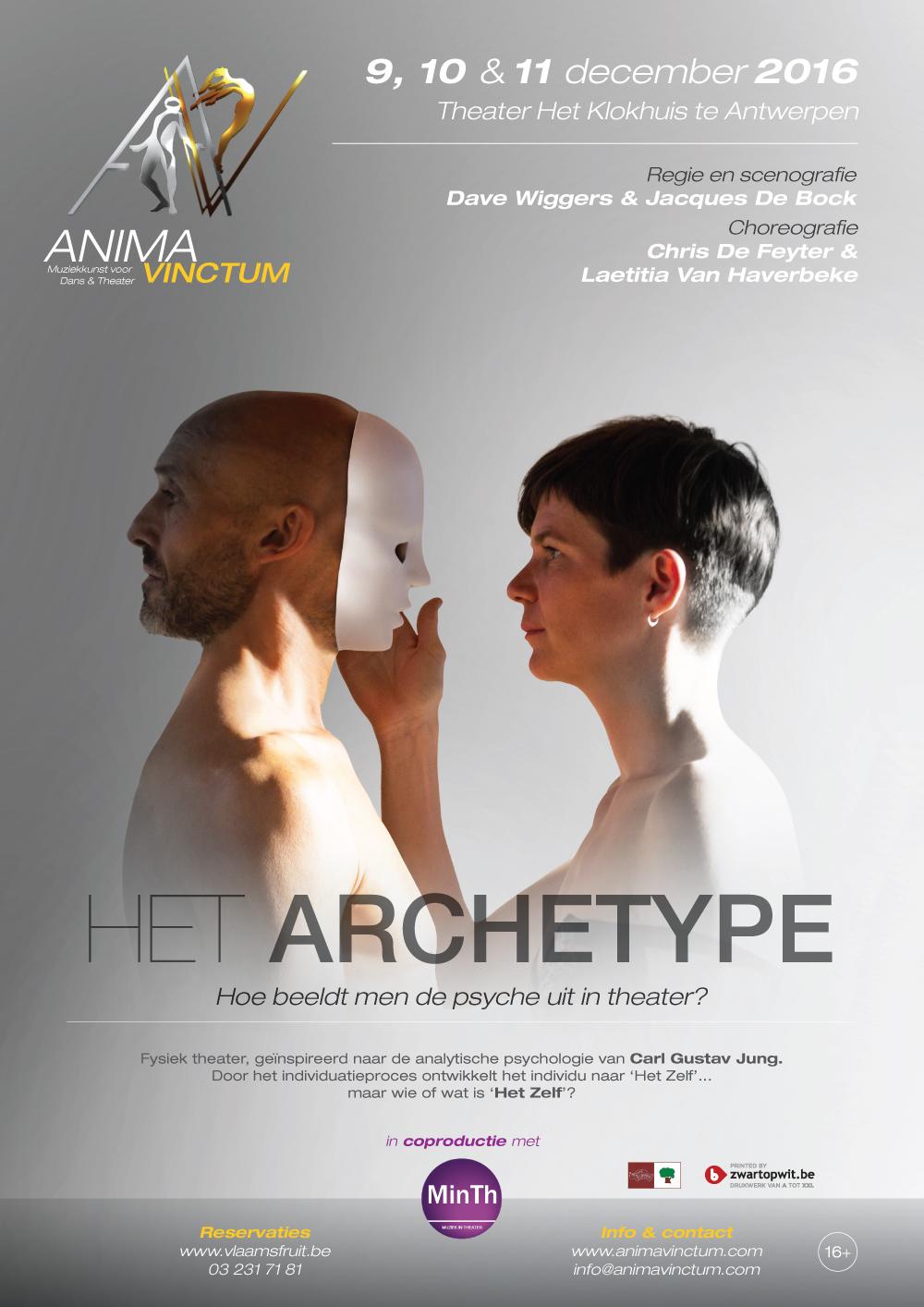 theaterproducties anima vinctum het archetype affiche