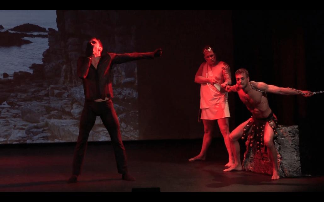 fysiek theater prometheus arend dans anima vinctum