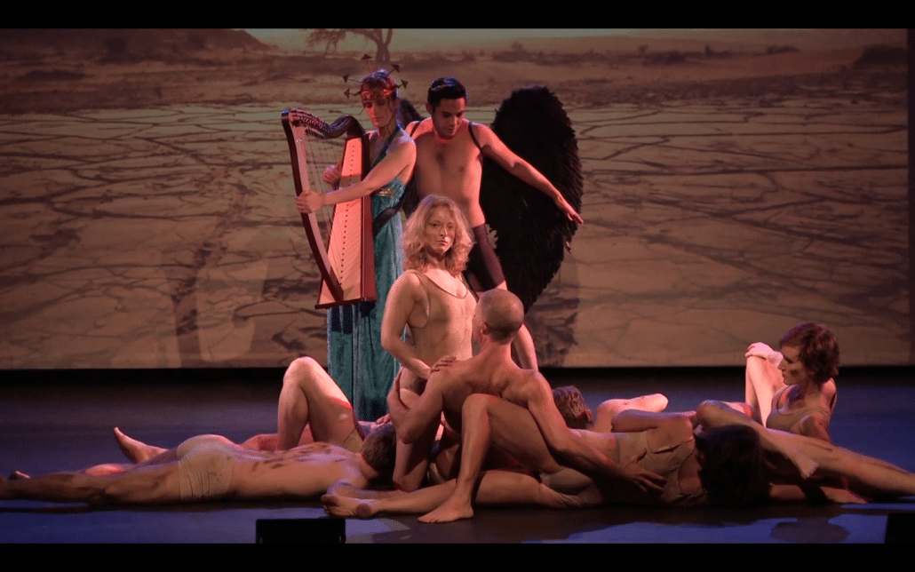 prometheus athena eros man theater performance anima vinctum