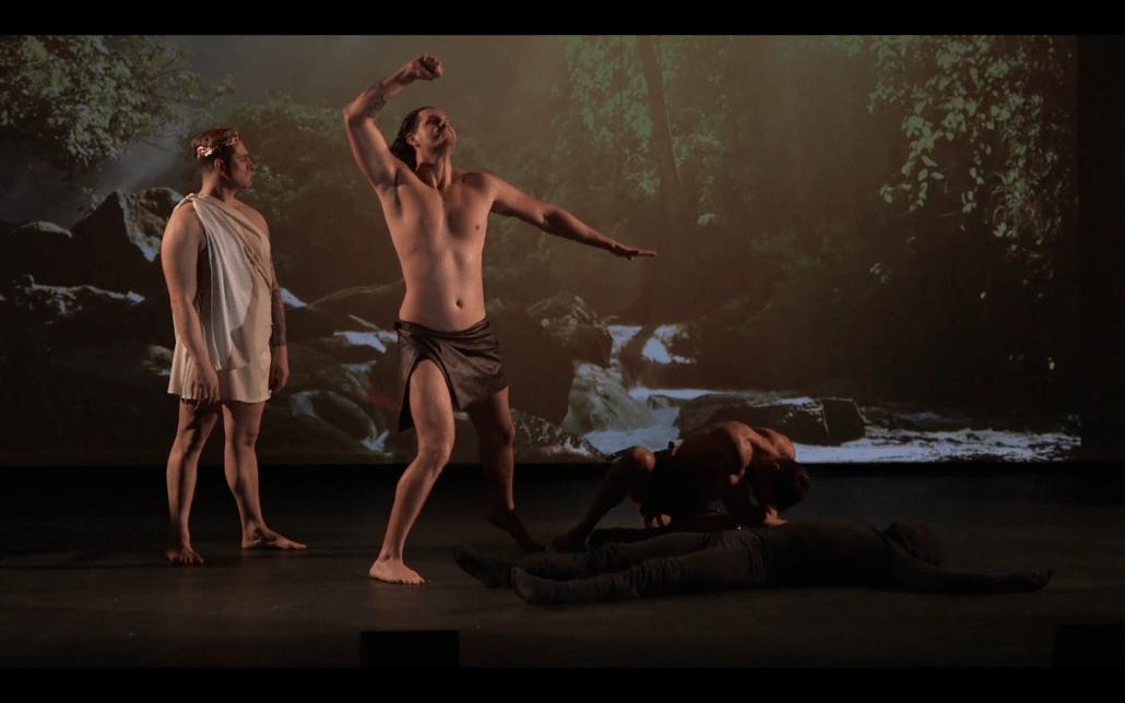 prometheus hephaistos zeus theatervoorstelling anima vinctum