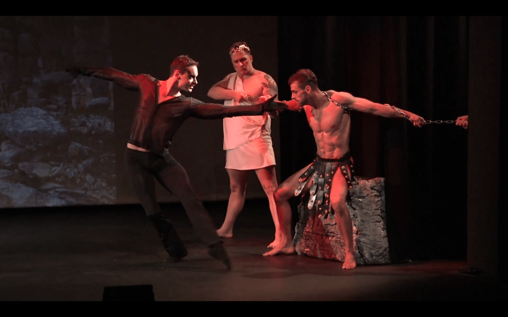 stage performance prometheus eagle dance anima vinctum