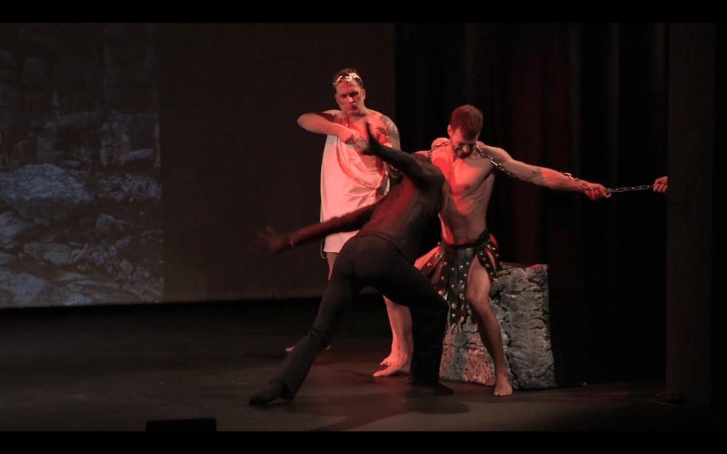 theaterproductie prometheus arend dans anima vinctum