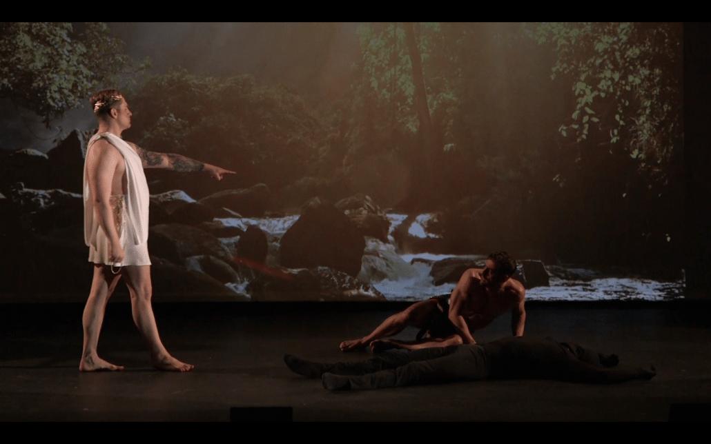 theaterproductie prometheus zeus anima vinctum