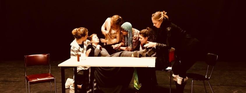 theaterlessen in fameus zaal zirkus anima vinctum